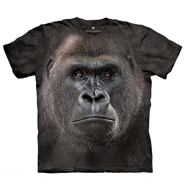 【摩達客】(現貨)美國進口The Mountain Smithsonian系列 大猩猩特寫 純棉環保短袖T恤