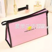 洗漱包 化妝包簡約大容量手提小號迷你便攜洗漱韓國旅行收納可愛防水·夏茉生活
