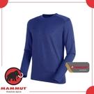 【MAMMUT 男 Runbold ML Crew Neck 《群青藍》】1014-00620-5967/長袖圓領/休閒衫/上衣