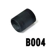 特力屋工業風-4cm直管(黑色-六分)