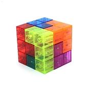 積木磁力魔方魯班索瑪立方體方塊兒童拼裝玩具益智力【古怪舍】