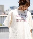 休閒上衣 LOGO印花 寬版 女T恤 免運費 日本品牌【coen】