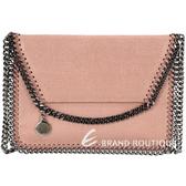 Stella McCartney Falabella 信封造型鍊帶肩背包(粉色) 1430119-C5