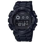 CASIO G-SHOCK/運動數位皮革造型腕錶/GD-120BT-1