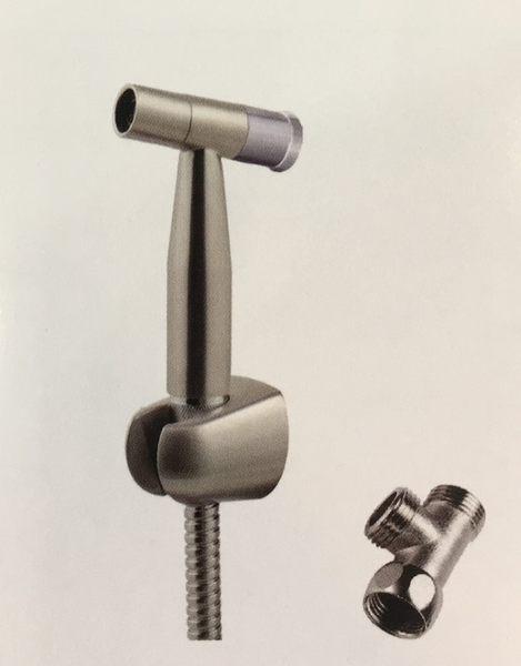 『長梭衛浴』T175DG 閥心拉絲噴槍組沖洗器(不鏽鋼304) (退回需自付來回運費)
