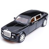 合金車模仿真1:24勞斯萊斯邁巴赫小汽車模型男孩可六開門玩具車七夕節下殺89折