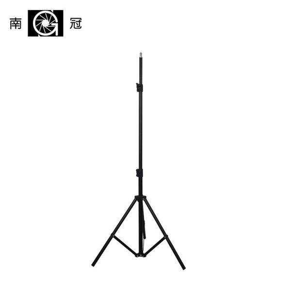 小型攝影燈架攝影棚柔光箱LED攝像燈三角支架便攜三腳架L170YYJ      原本良品
