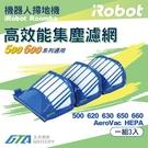 【久大電池】 iRobot Roomba AeroVac 濾網 500 / 600 系列 HEPA 濾網 (一組3入)