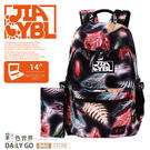 後背包包女包大容量14吋多層收納電腦包彩色世界8289-BR