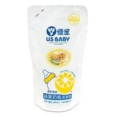 US BABY優生-奶瓶蔬果清潔劑900ml(補充包) 大樹