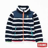 CHUMS 日本 童 Fleece Elmo 外套 海軍條紋 CH241013N050