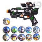 (一件免運)寶寶電動玩具投影聲光手槍 XW