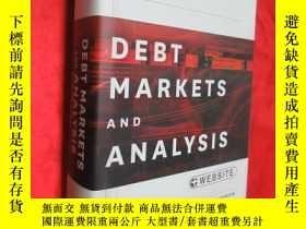 二手書博民逛書店Debt罕見Markets And Analysis (16開,