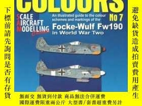 二手書博民逛書店Combat罕見Colours 7: Colour Schemes & Markings of the Focke