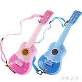 木質兒童小吉他玩具六弦初學者可彈奏男孩女孩禮物TT1962『美鞋公社』