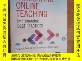 二手書博民逛書店Evaluating罕見Online Teaching 【詳見圖】Y255351 ISBN:9781118