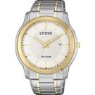 CITIZEN 星辰 Eco-Drive 光動能城市手錶-雙色版/42mm AW1216-86A