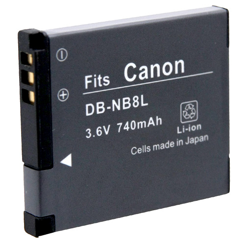 Kamera Canon NB-8L 高品質鋰電池 A2200 IS A3000 IS A3100 IS A3200 IS A3300 IS 保固1年 NB8L