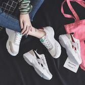 運動鞋 冬季新款運動鞋女跑步學生韓版百搭棉鞋原宿ulzzang老爹板鞋 city精品