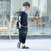 男童涼鞋新款韓版夏季中大童小孩防滑軟底學生真皮兒童 WD489【旅行者】