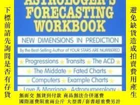 二手書博民逛書店The罕見Astrologer s Forecasting WorkbookY364682 Lloyd Cop