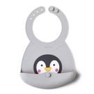 兒童 矽膠圍兜 台灣VIIDA - Joy 便攜式矽膠圍兜 - 企鵝