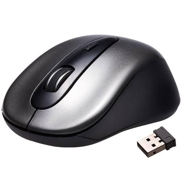 (年終爆殺出清組)【10支組】TCSTAR 連鈺 TCN632 鐵灰 無線光學滑鼠 2.4G無線
