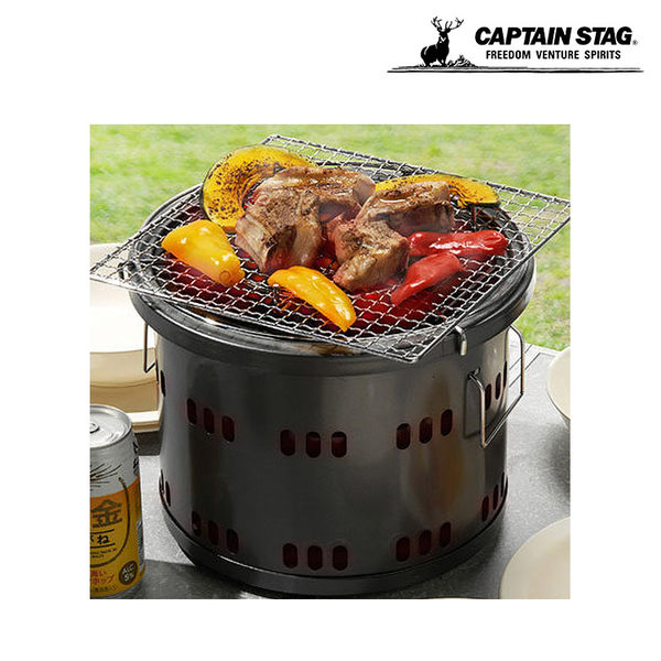 Captain Stag 日本鹿牌 鐵製炭爐 MS-2821 / 城市綠洲 (露營.野營.烤肉.爐具)