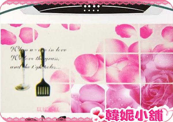 ☆韓妮小舖☆【HC0544】韓國 桃花朵朵 牆貼畫/廚房壁貼/廚房防油貼/防油藝術貼