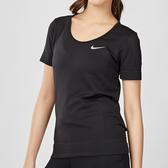 Nike Infinite 女子 黑色 運動 休閒 短袖 上衣 BV3914-010