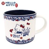 (預購) 小禮堂 Hello Kitty x 故宮博物院 馬克杯 陶瓷杯 寬口杯 疊疊杯 咖啡杯 (8/15出貨) 4713218-89707