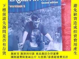 二手書博民逛書店English罕見in Mind Level 5 Workbook-英語思維五級練習冊Y14465