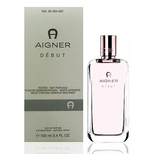 Aigner Debut Eau de Parfum Spray 一見傾心淡香精 100ml Tester 包裝