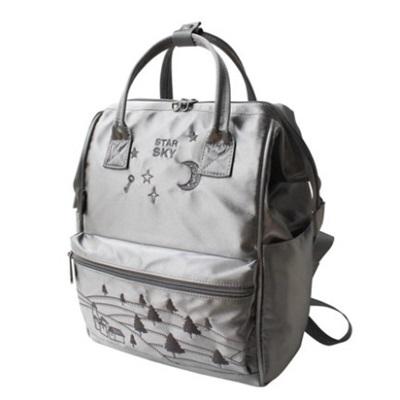 後背包-刺繡星空系列時尚學院風女雙肩包73sr9【時尚巴黎】