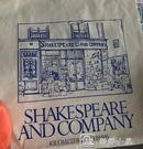 薄款環保袋帆布包女單肩布袋手提購物袋托特包莎士比亞書店周 娜娜小屋