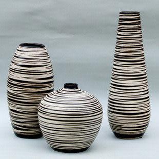 新款三件套-陶瓷工藝品 花瓶 擺件