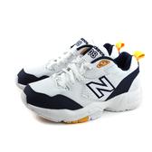 NEW BALANCE 708系列 運動鞋 女鞋 白/深藍 WX708WP-D no658