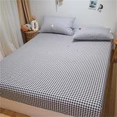 單件純棉床笠全棉防滑固定床墊保護罩全包床單床套【聚寶屋】