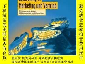 二手書博民逛書店Professionelles罕見Controlling in Marketing Vertrieb: Ein i