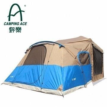 丹大戶外【Camping Ace】EZ外掛帳 兩門兩窗 無縫連接排風帳 客廳帳專用 EZ-633-3