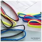 Catworld 螢光色編織雙條運動髮帶【17001558】‧F