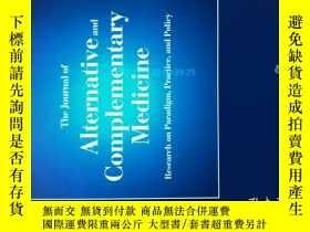 二手書博民逛書店The罕見Journal of Alternative and Complementary Medicine 7