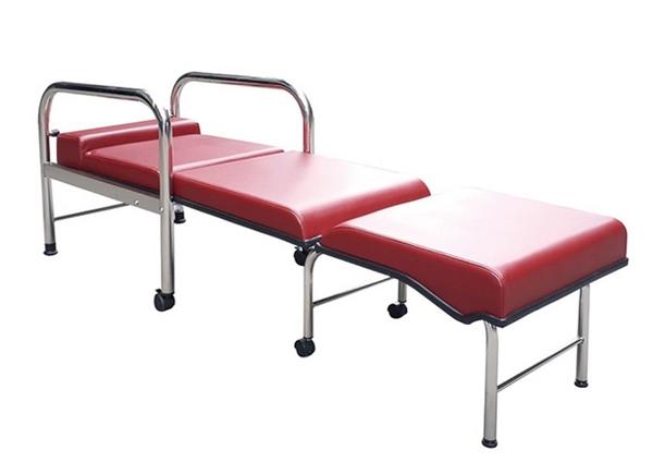 加寬型坐臥兩用陪伴床椅(不鏽鋼)YH017-1