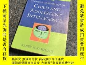 二手書博民逛書店Clinical罕見Assessment of Child an