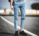 【找到自己】韓國代購 毛鬚 毛邊 抓鬚 貓鬚 牛仔褲 復古抓邊 牛仔 韓國 街頭 穿搭 潮流 聖品