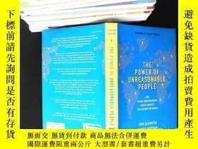 二手書博民逛書店The罕見Power of Unreasonable People:How Social Entrepreneur
