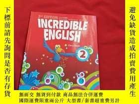 二手書博民逛書店INCREDIBLE罕見ENGLISH【lass Book 2】
