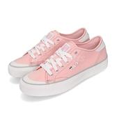 Fila 休閒鞋 C317T 基本款 粉紅 白 帆布鞋 女鞋 運動鞋【ACS】 5C317T511
