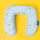 圓點U型記憶枕 水藍 1515006 護頸枕|午睡枕|旅行枕|露營|戶外