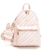 PLAYBOY- 後背包可肩背 粉潮流系列 -粉色
